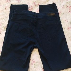 Calvin Klein Navy Dress Pants Size 8